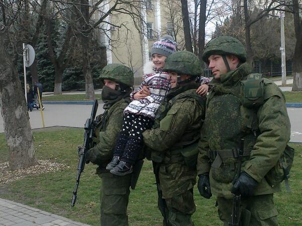 На улицама свих градова Крима